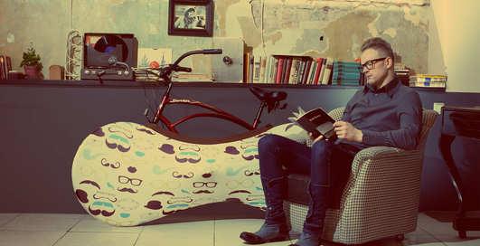 Велоносок: в Латвии придумали новый аксессуар