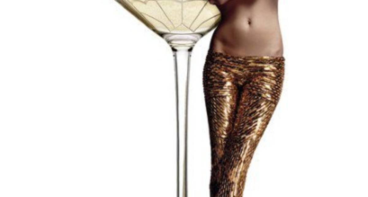 Созданы бокалы в форме груди Кейт Мосс