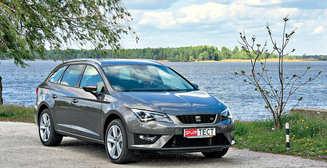 Тест-драйв SEAT Leon ST: спортивный семьянин