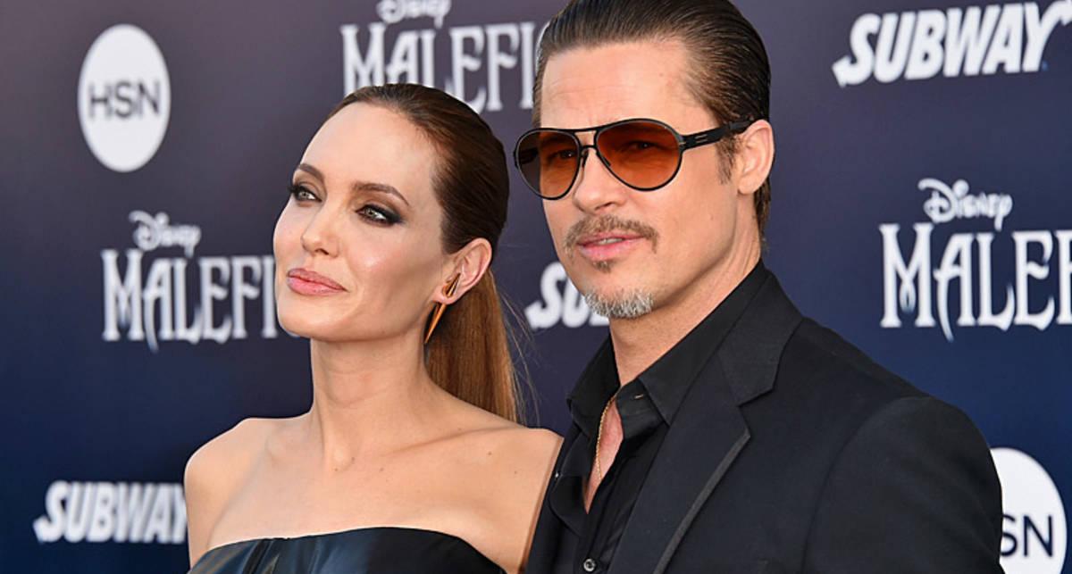 Брэд Питт женился на Анджелине Джоли