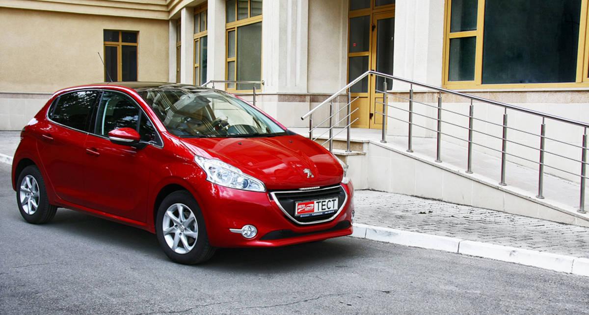 Тест-драйв Peugeot 208: доступная автоматика