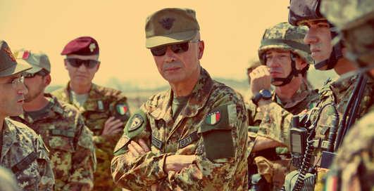 Итальянские солдаты будут выращивать марихуану