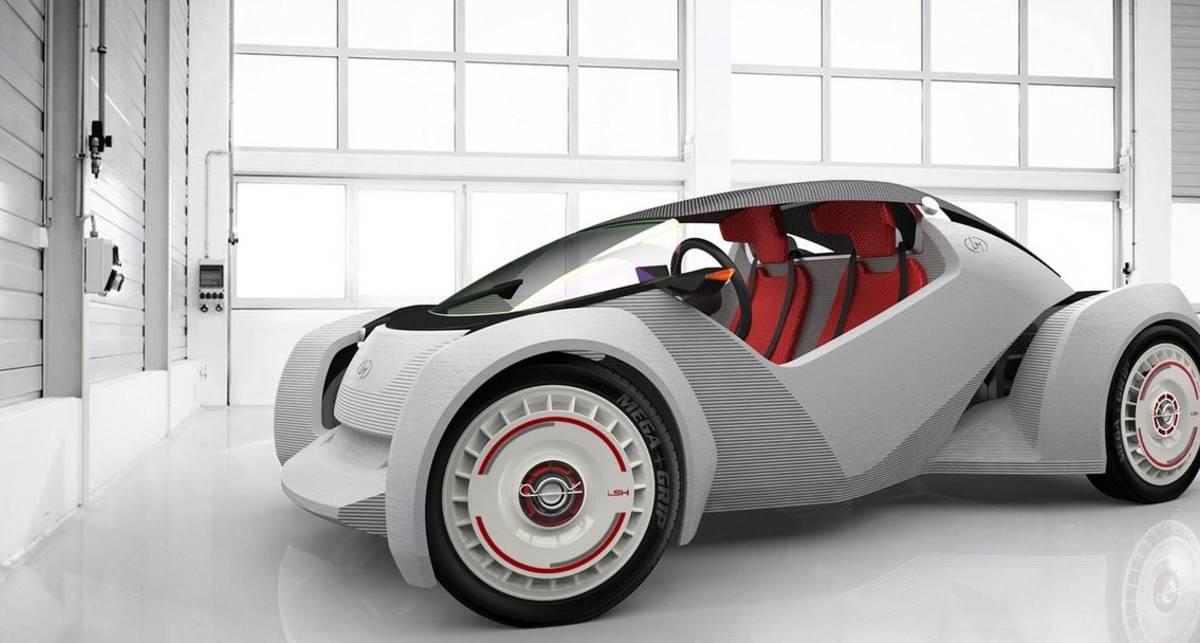 Американцы напечатали авто на 3D-принтере