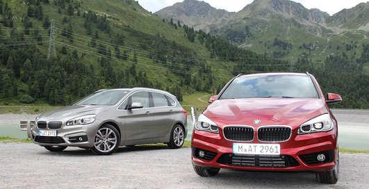 Тест-драйв BMW 2-й серии Active Tourer