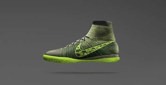 Nike показала текстильные бутсы Lastico Superfly