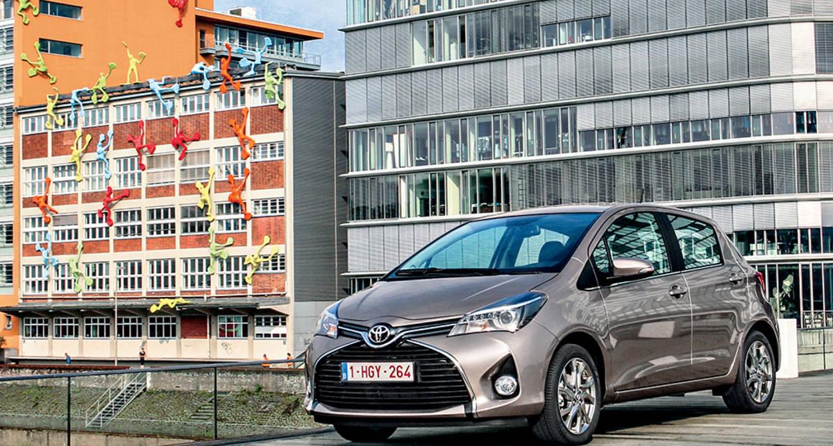 Тест-драйв Toyota Yaris: европейские ценности