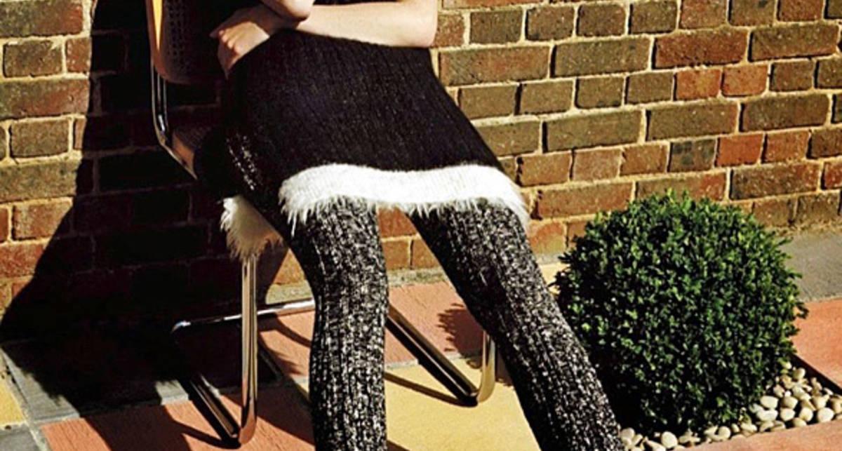 Лара Стоун обнажилась в осеннем номере V Magazine