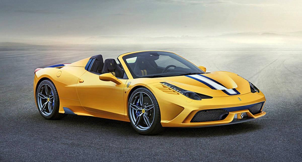 Ferrari 458 Speciale A: мощнейший кабриолет марки