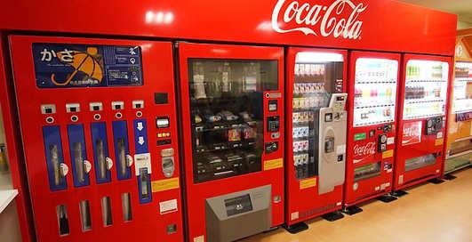 Coca-Cola атакует ЮАР автоматами с wi-fi и газировкой