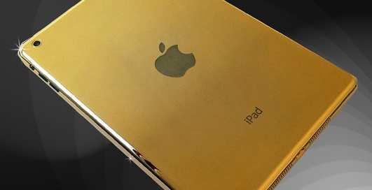 Почти золотой: Apple выпустят необычный планшет