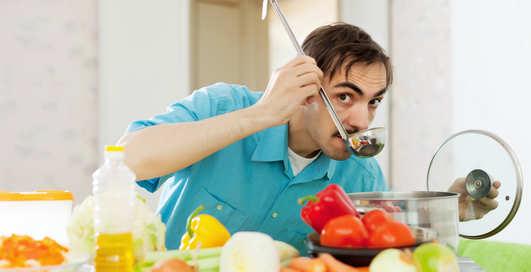 10 блюд за 10 минут: самая быстрая мужская пища