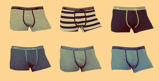 Какое белье полезно носить мужчинам?