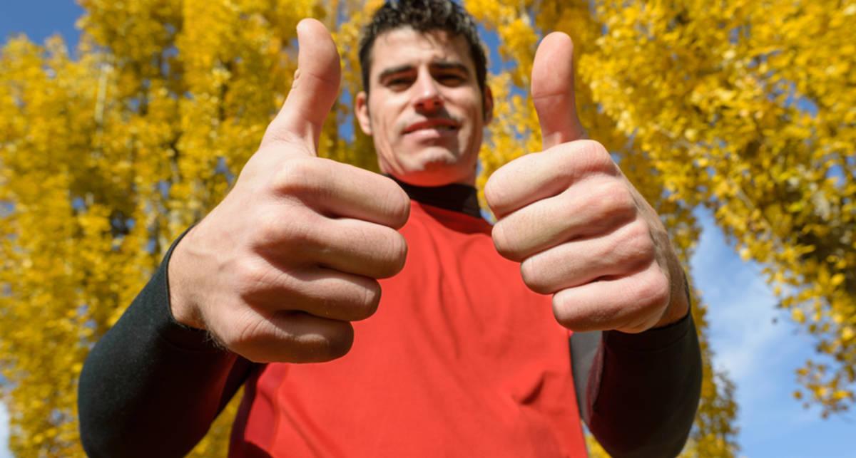 Как мужчине одеться для осенней пробежки