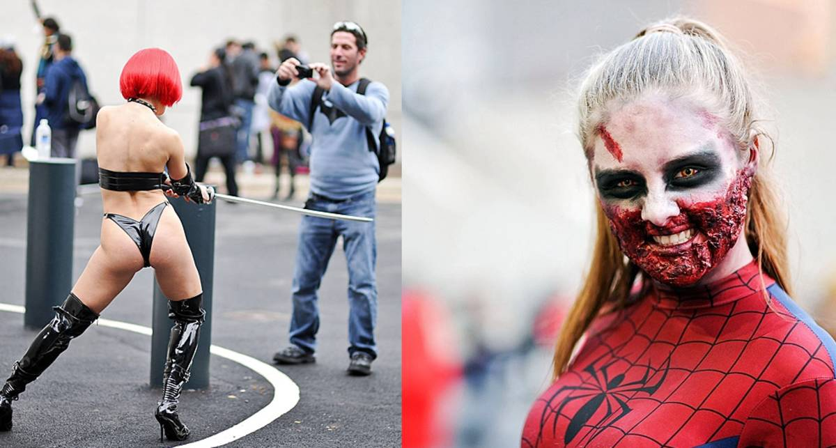 Трупы, зомби и красотки: New York Comic Con 2014
