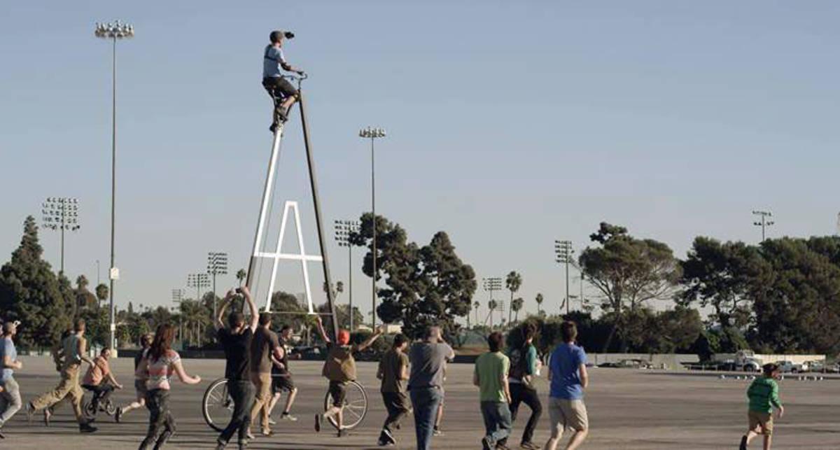 StoopidTaller или самый высокий велосипед в мире