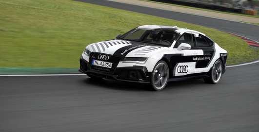 Audi RS7: беспилотный концепт поставил новый рекорд