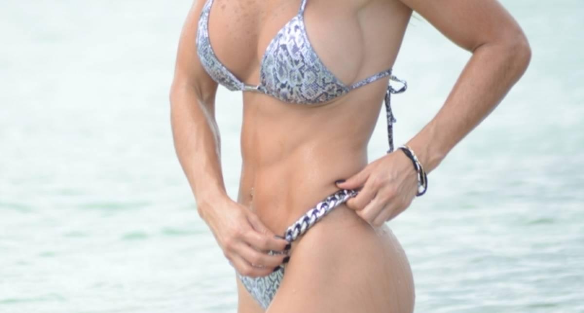 Мишель Левин опять засветилась на Майами