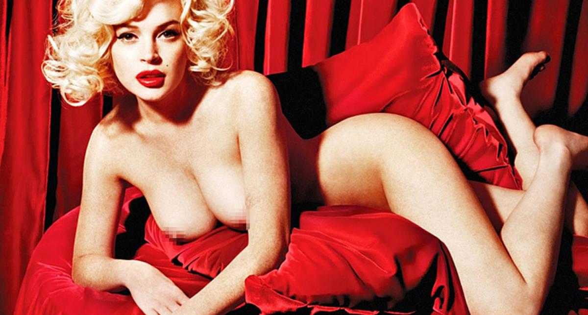 Playboy TV превратили Линдсей Лохан в Мерлин Монро