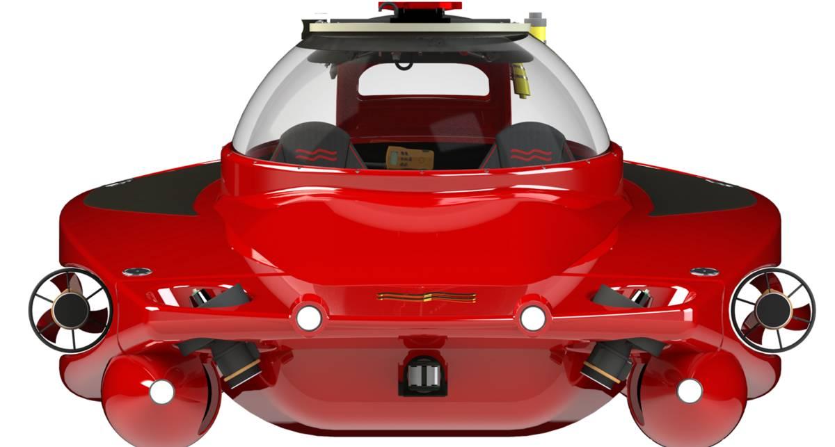Подводная Ferrari: создана самая скоростная субмарина