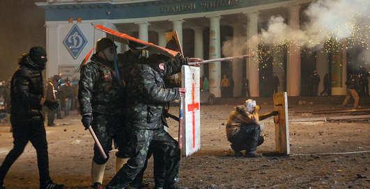 Оружие Майдана: ТОП самых применяемый средств