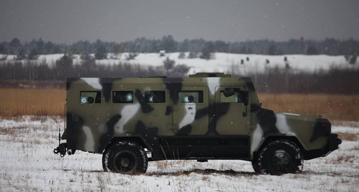 КOZAK 2014: новая техника для бойцов в зоне АТО