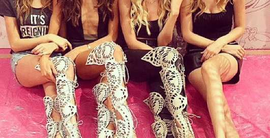 Как Ангелы готовятся к Victoria's Secret Fashion Show