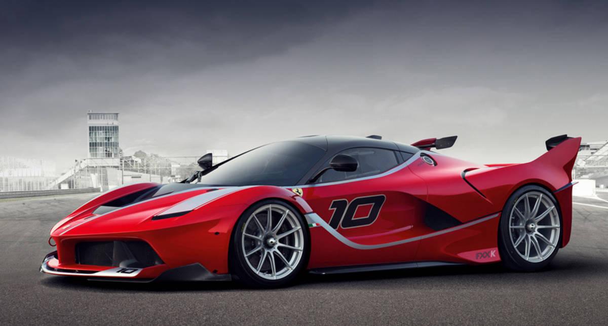 Ferrari FXX K: создан 1050-сильный трековый гиперкар