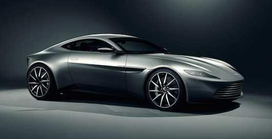 Aston Martin DB10: супер-авто самого Джеймса Бонда