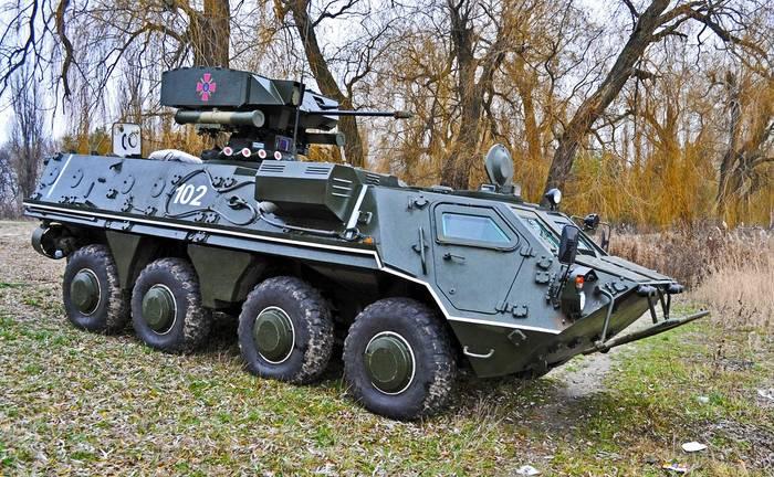 БТР-4. Выживет даже в условиях применения оружия массового поражения
