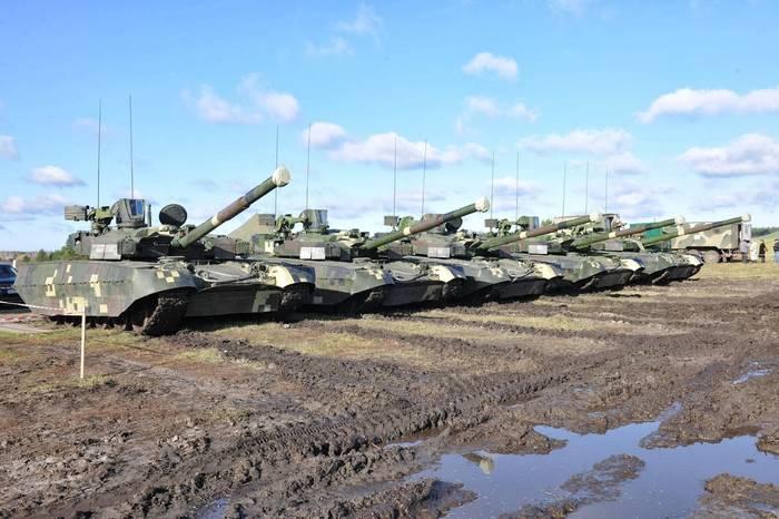 БМ Оплот — гордость украинского танкостроения