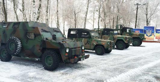 """""""БронеБарс"""": новый автомобиль для украинской армии"""