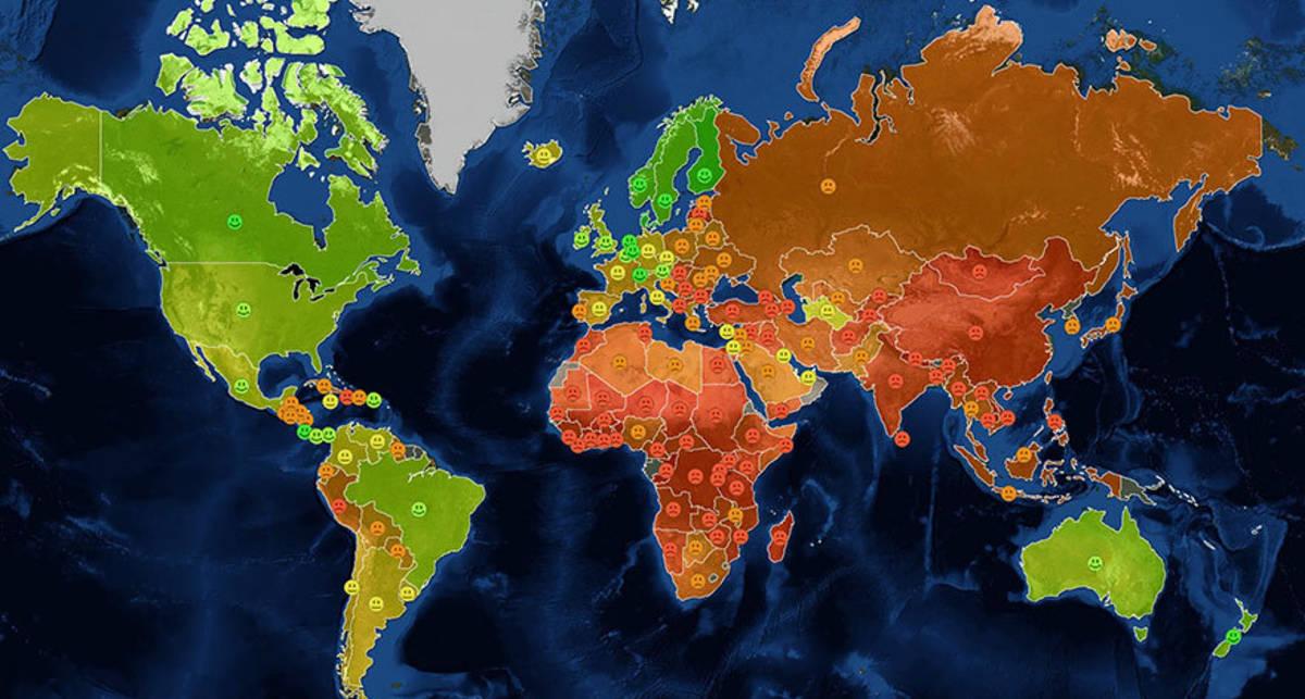 ТОП-15 карт, которые не покажут на уроках географии