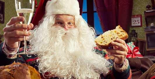 Праздничное застолье, или что мы едим на Новый год