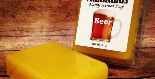 Пиво, деньги, и трава: чем должно пахнуть мыло настоящего мужчины