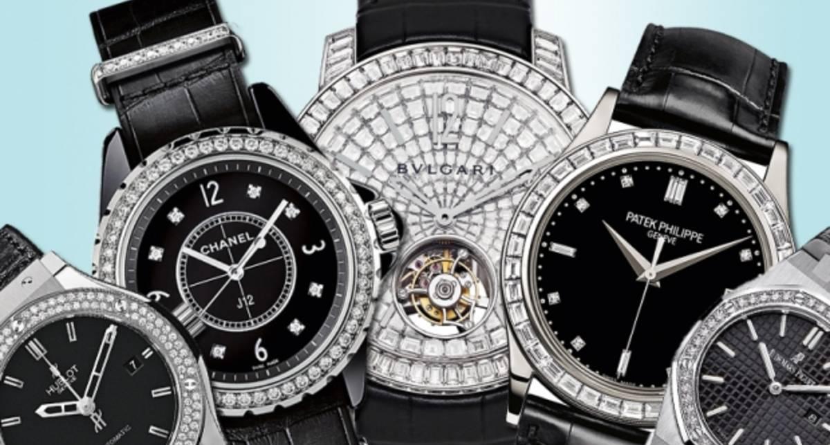 Часы с бриллиантами: 8 моделей, которые не по зубам