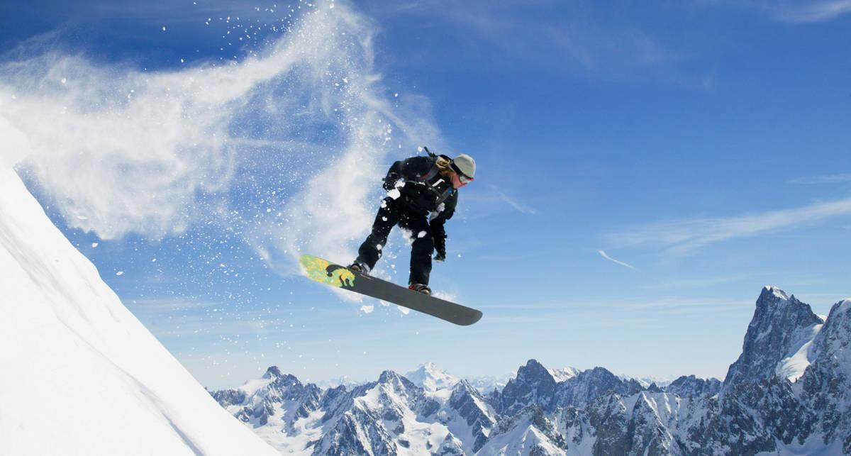Сноубординг для чайников: 5 базовых трюков