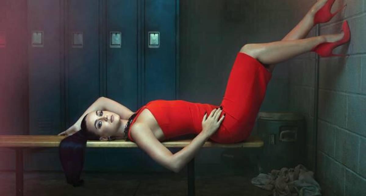 Дьявол в красном: Кэти Пери снялась для Billboard
