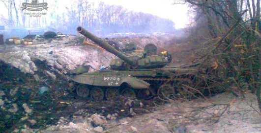 Танковая схватка: фото остатков боевой техники в АТО