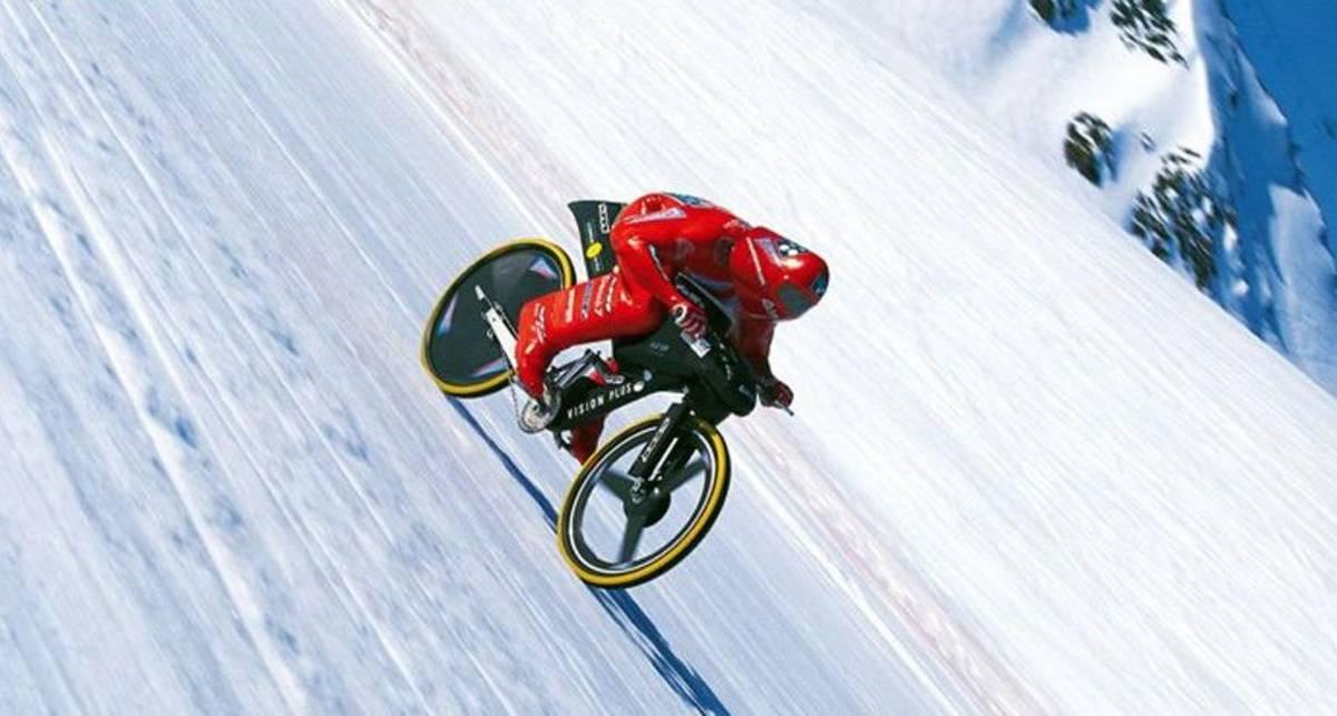 223 км/ч: установлен рекорд скорости на велосипеде