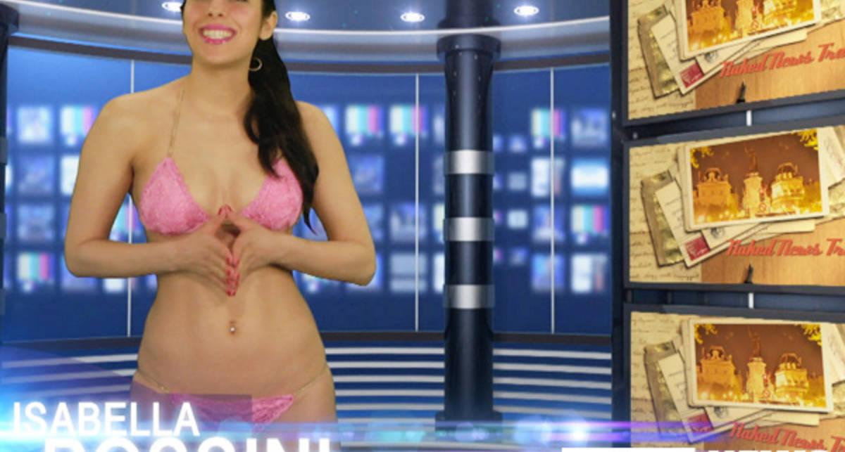Обнаженное ТВ: Изабелла Россини о самом главном