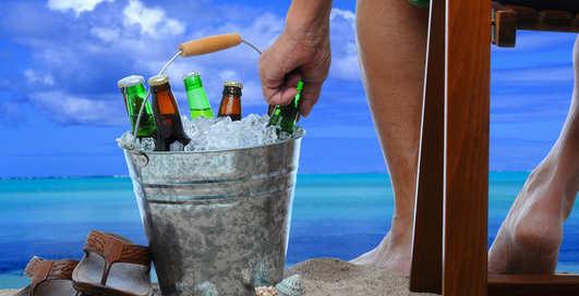 Сколько нужно льда, чтобы охладить твое пиво