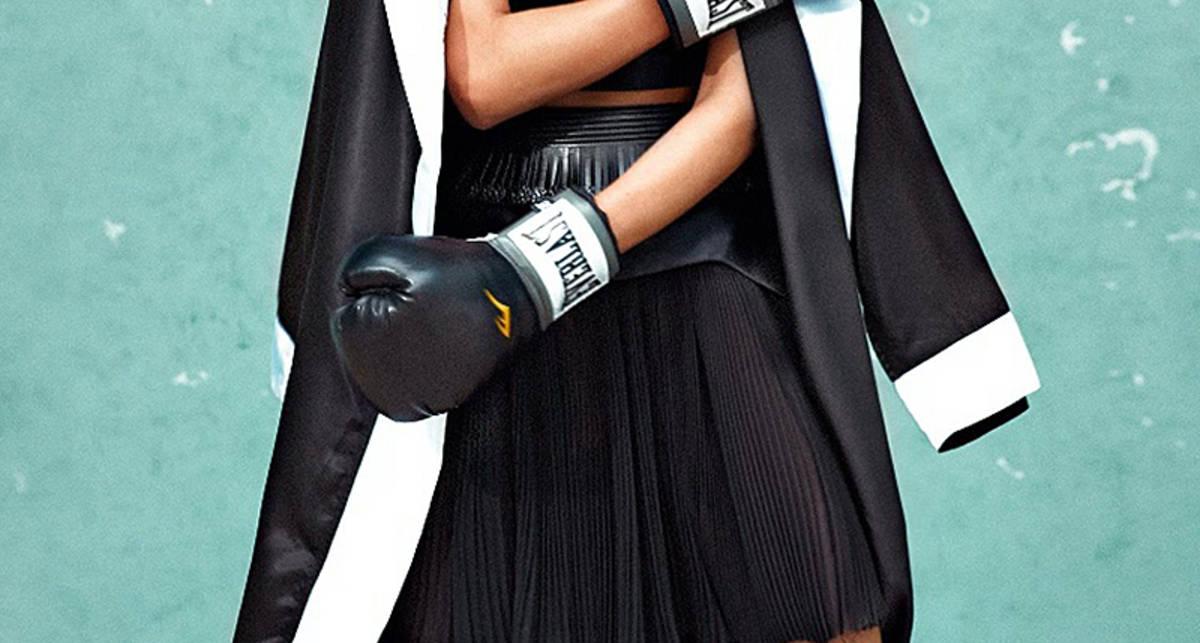 Бойцовская эротика: литовская модель снялась для Flair