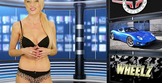 Обнаженное ТВ: спецвыпуск новостей с голой ведущей