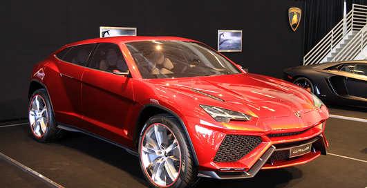 Lamborghini Urus: итальянцы презентовали новый SUV