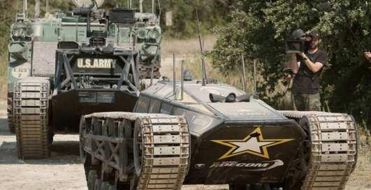 Танк-беспилотник: американцы показали Ripsaw-MS3