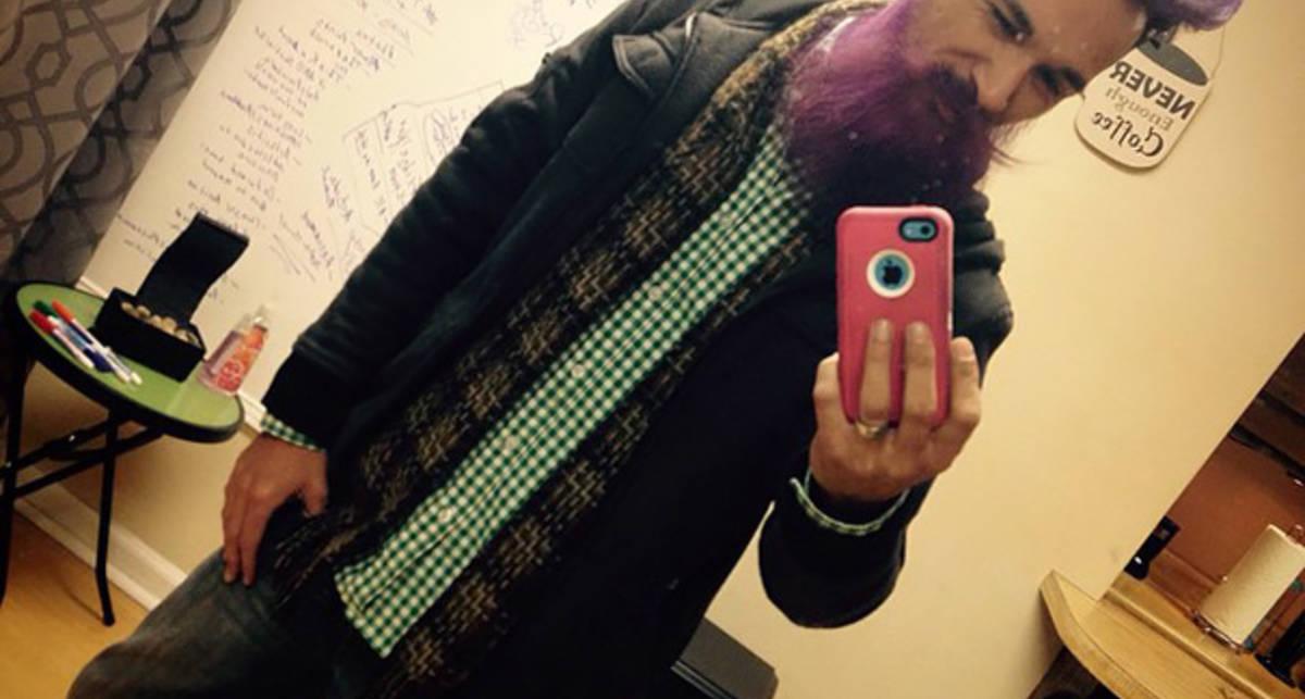 Крашенные бородачи: новый мужской тренд