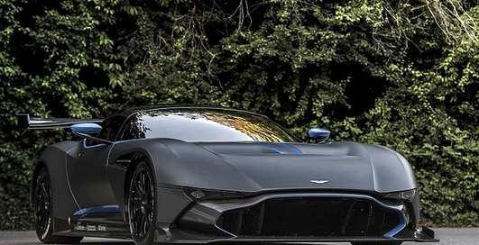 Aston Martin Vulcan: новый гиперкар за $2,3 миллиона