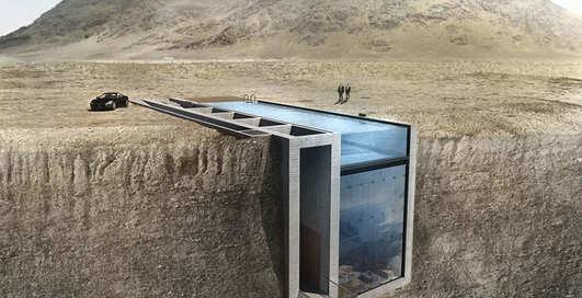 Дом в скале: 9 захватывающих фото