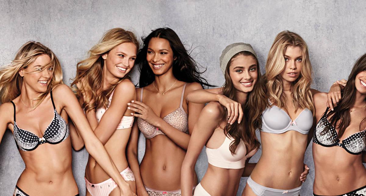 Ангельское белье: эротическая реклама от Victoria's Secret