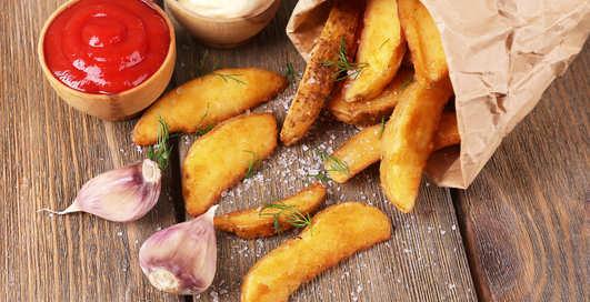 Рецепт невероятно хрустящей жареной картошки